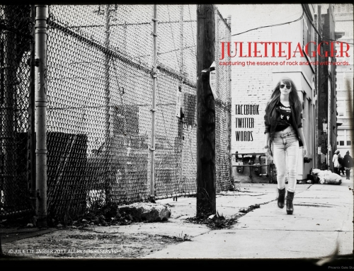 Splash page redesign for JulietteJagger.com