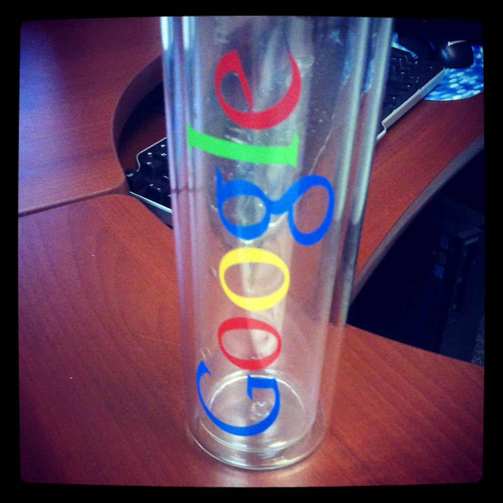 Google Water Bottle